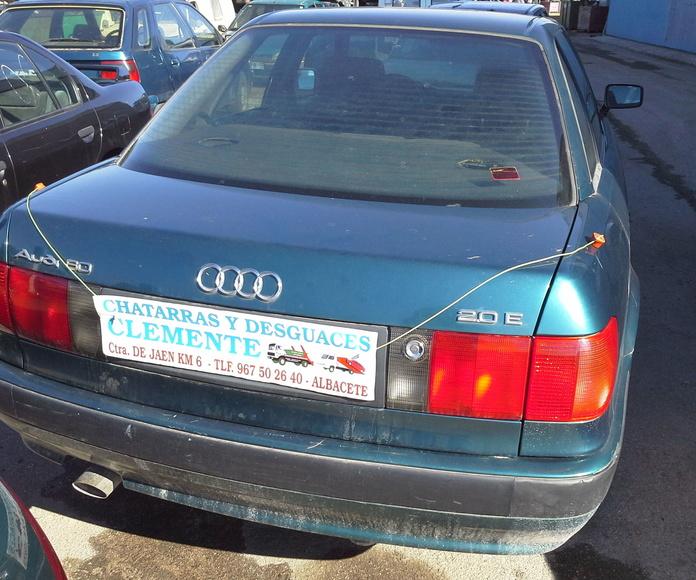 Audi 80 para desguace en desguaces Clemente de Albacete