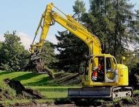 Movimientos de tierra en Castro Urdiales, excavaciones y transportes