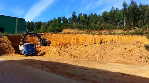 Movimiento de tierras en Vallegón para la compañía Martínez de Quel