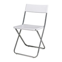 Alquiler sillas plegables color blanco Llanes