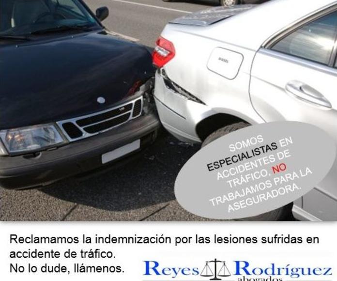 Abogados Las Palmas, accidentes de tráfico.