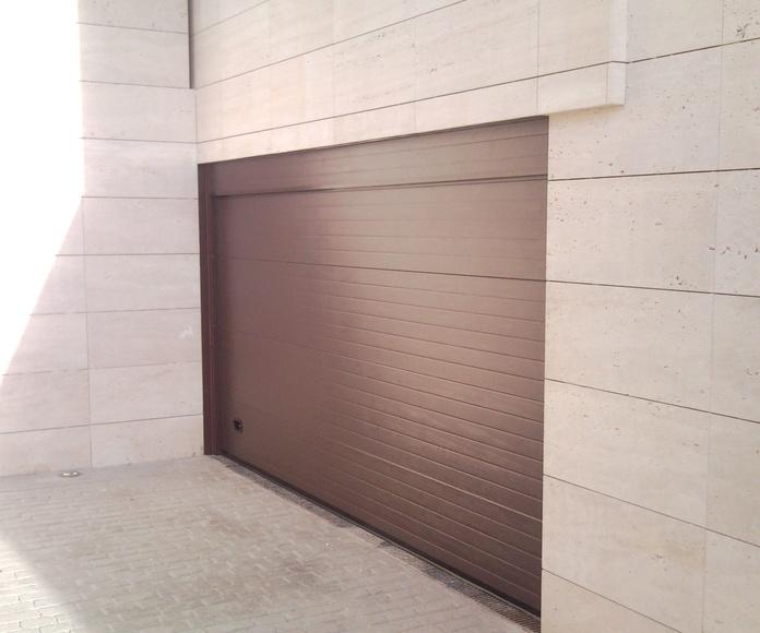 Puertas seccionales Oviedo