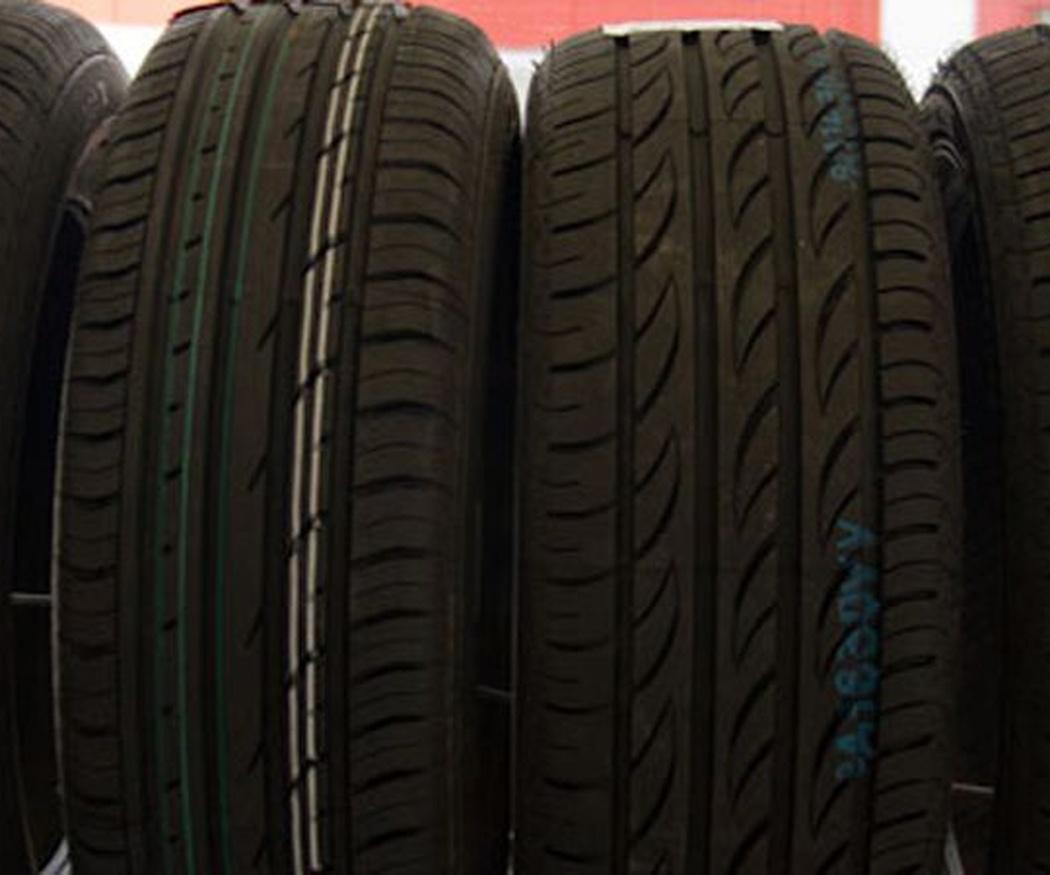Diferentes modelos de neumáticos