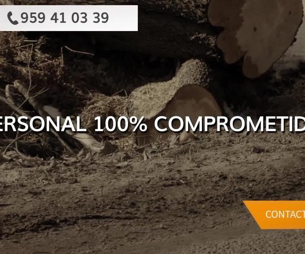 Almacén de maderas en Huelva   Explotaciones Forestales Lagarcía, S.L.L.