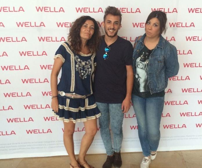 Equipo de trabajo de ASIA Peluquería en Málaga Septiembre 2015