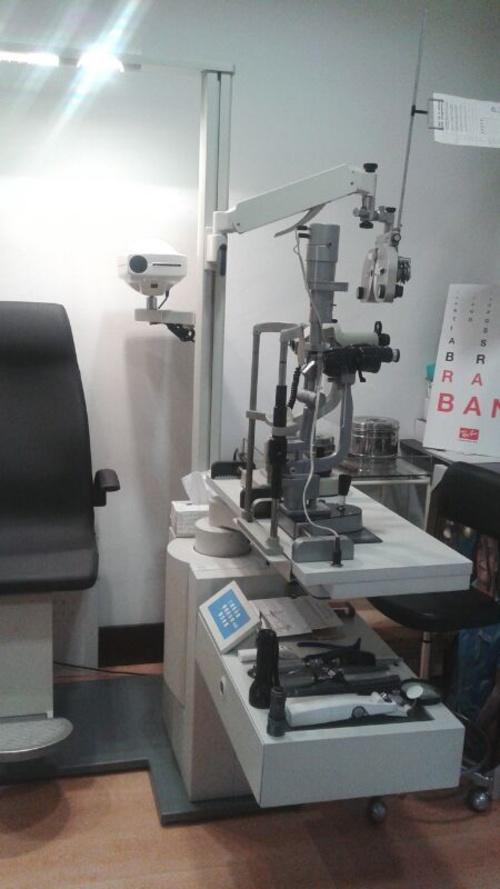 Máquina para medir la tensión ocular