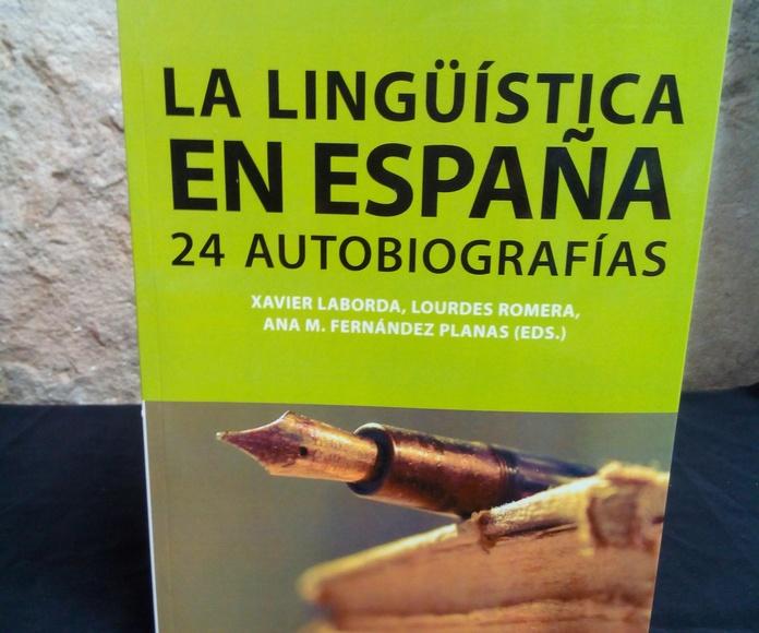 LA LINGÜÍSTICA EN ESPAÑA: SECCIONES de Librería Nueva Plaza Universitaria