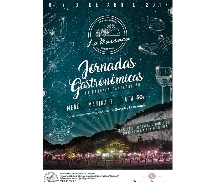 Jornadas gastronómicas 8 y 9 de Abril