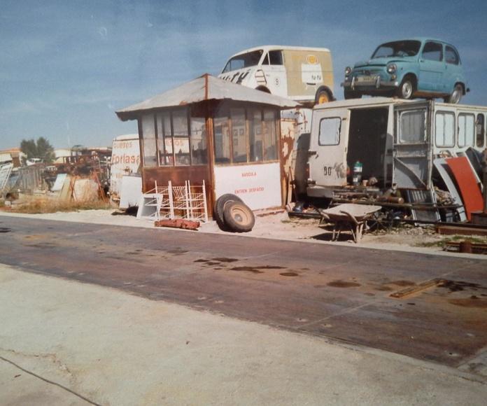 Desguaces Clemente de Albacete en los años 90