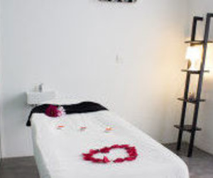 Sala para los tratamientos de belleza