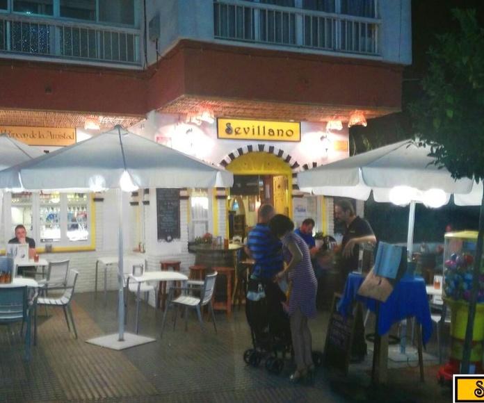 Nueva Iluminación en la Terraza del Sevillano Chaparil