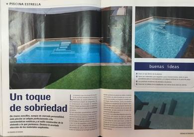 Publicación en revista Piscinas Actualidad