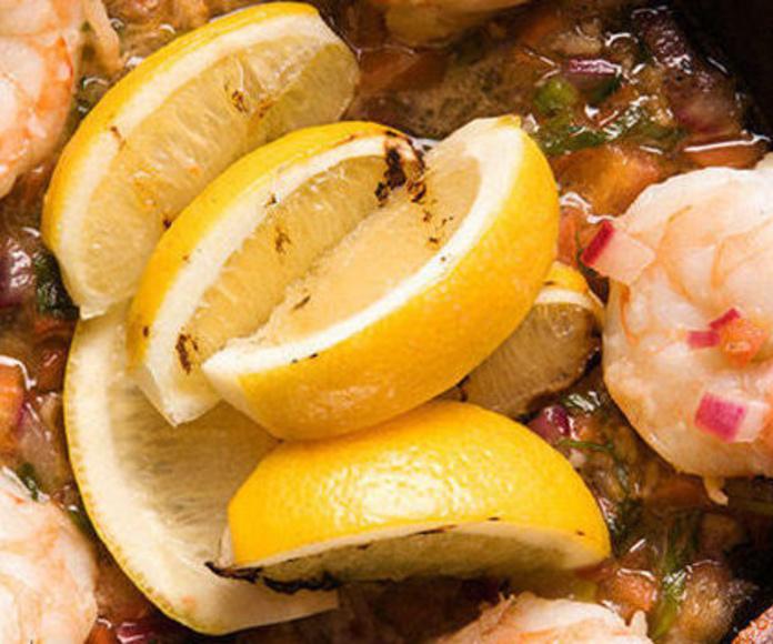 Productos del mar: Cocina marina de O Cruceiro