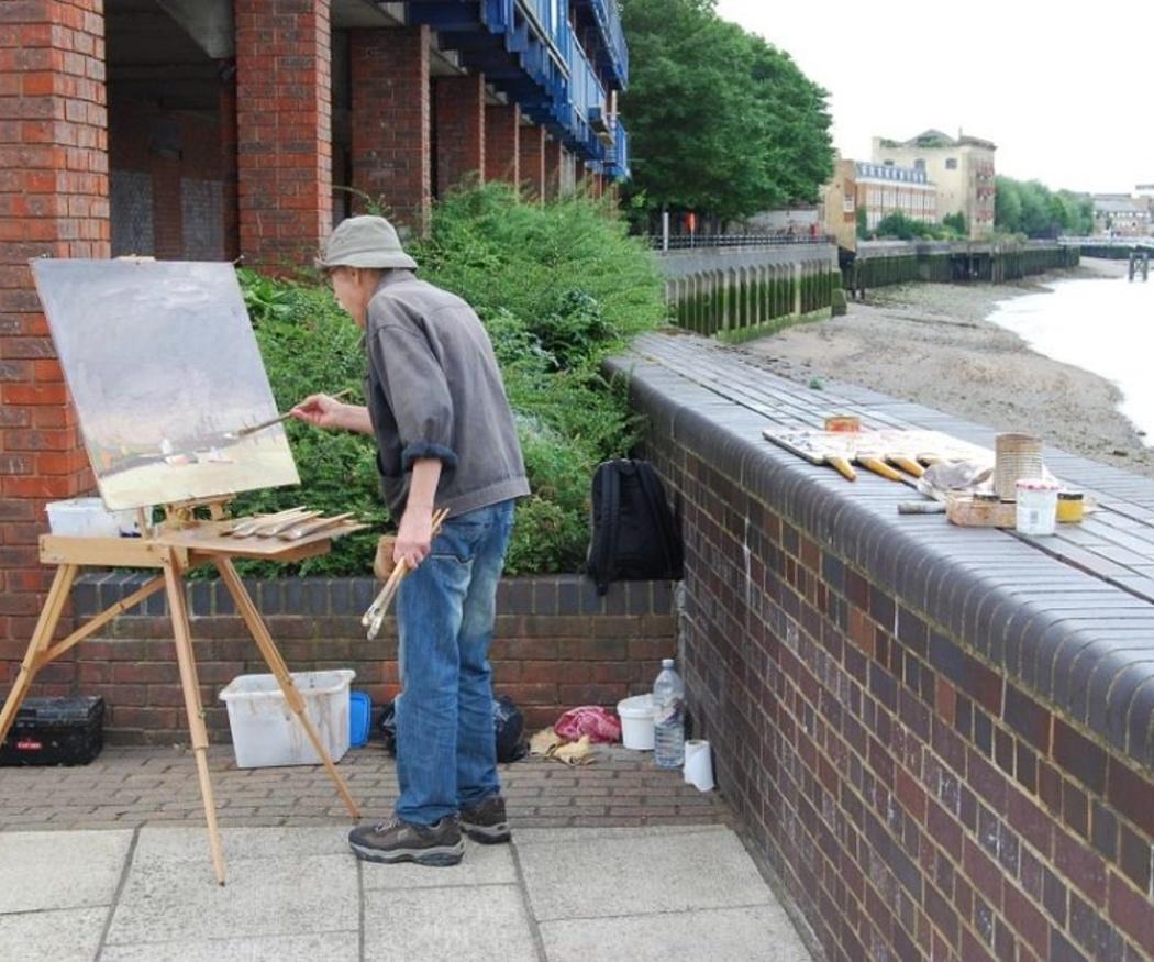 Salidas profesionales de la pintura