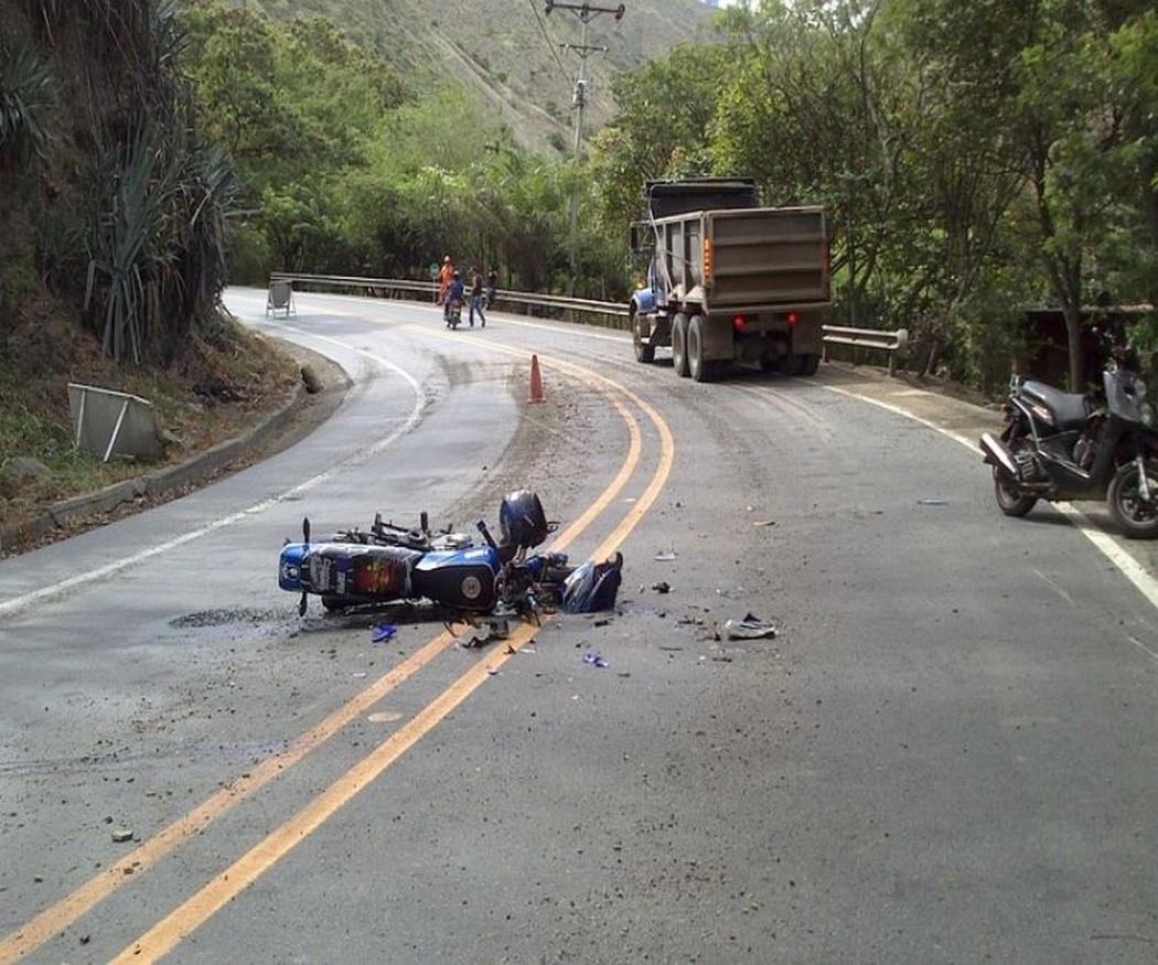 ¿Cómo actuar tras un accidente de moto?