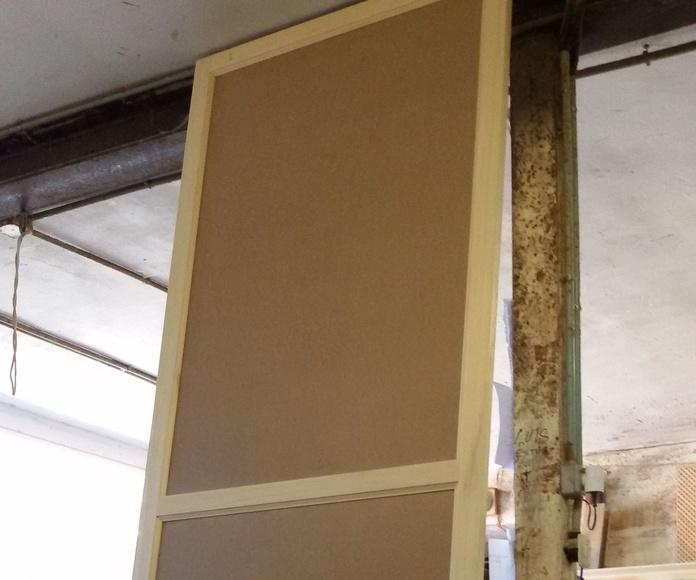 fabricadas en madera especial para lacer (koto) y entrapaños en DM