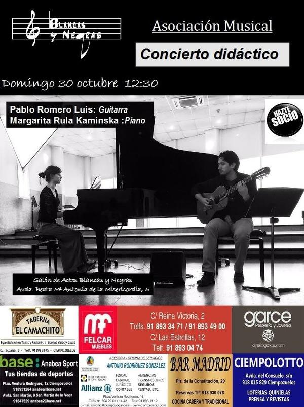 """VI Ciclo de conciertos didácticos. """"Dos solistas, dos orquestas"""""""