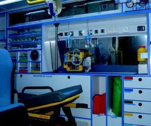 Ambulancias UVI movil