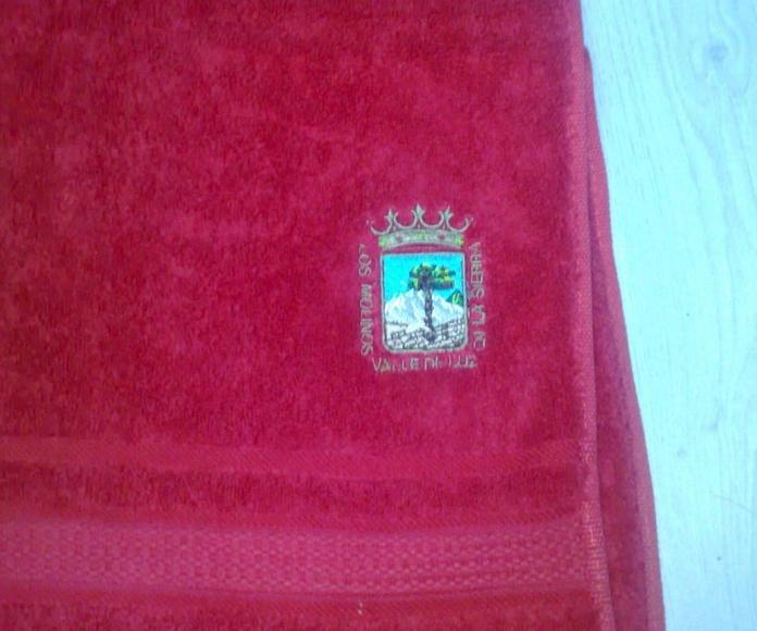 Bordados Variados: Catálogo de bordados de Bordados Tecnibor, S.L.