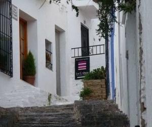 Vista de la entrada al restaurante