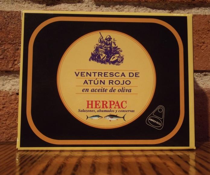 Ventresca de atún rojo HERPAC: Catálogo de  López Pascual