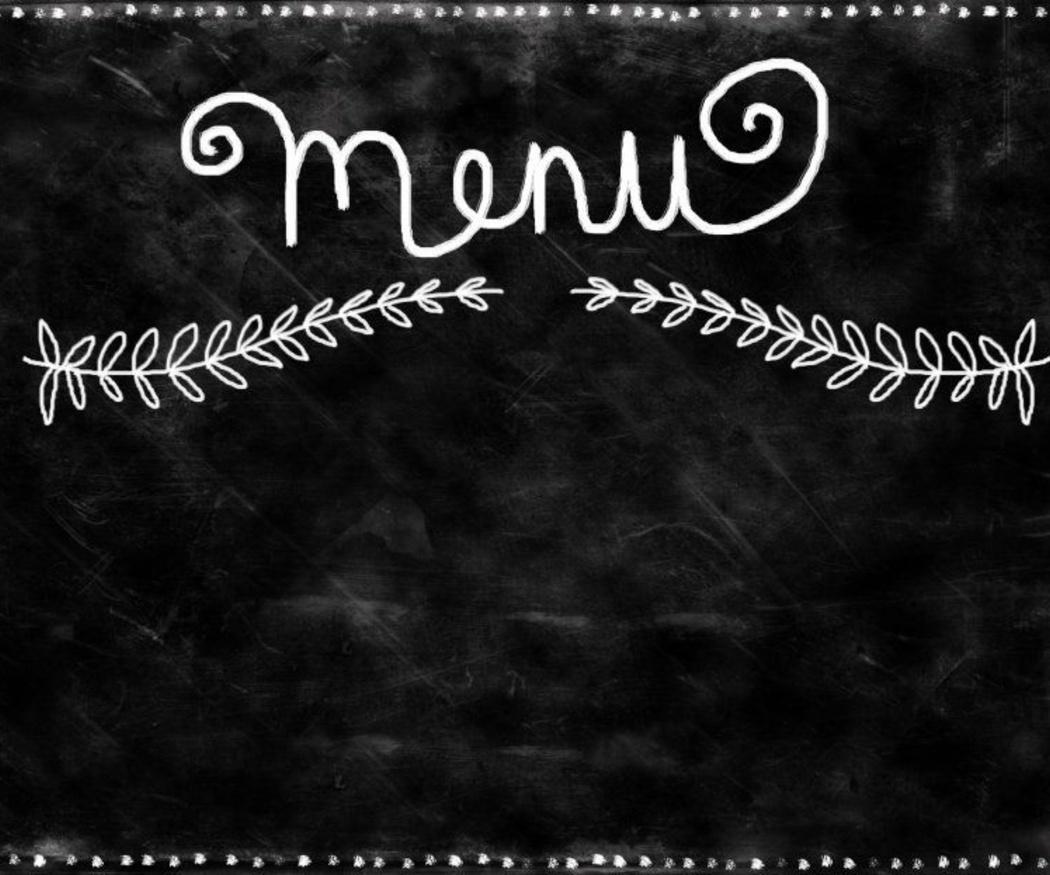 El menú diario