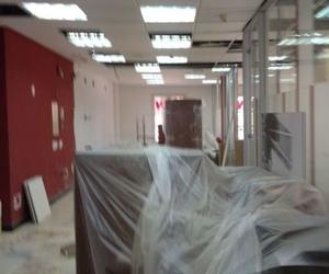 Trabajos de acondicionamiento de oficinas