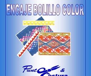 Encaje Bolillo Color