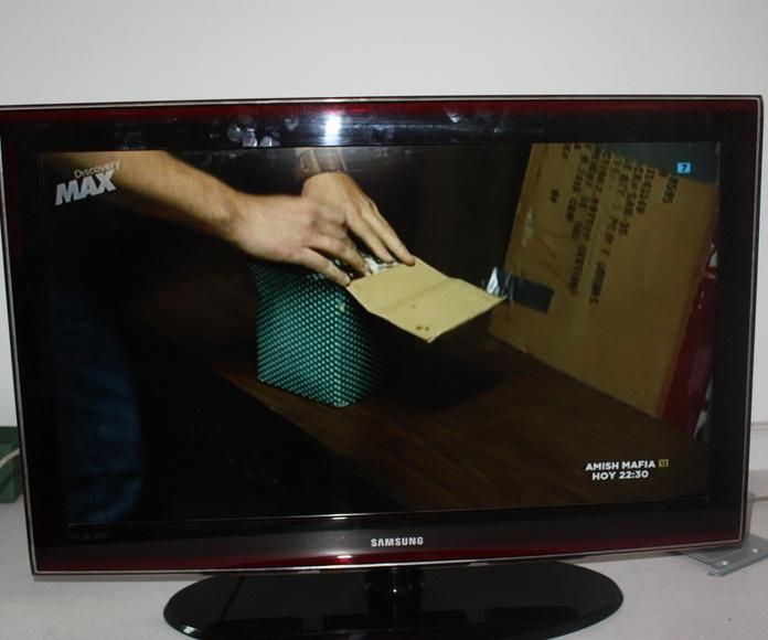 Reparación de televisores: Servicios de Tecnisan
