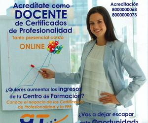 curso docencia pra certificados de profesionalidad