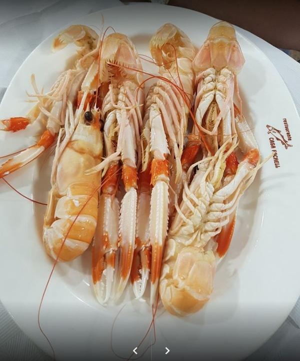 Mariscos: Especialidades de Restaurante El Pachell