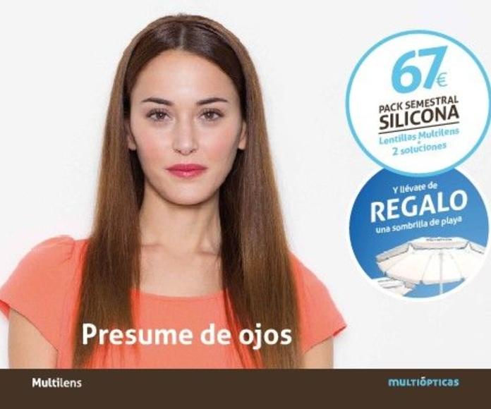 Promoción de lentillas 67 euros