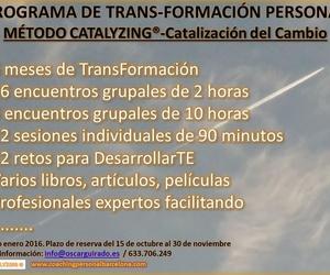 2 -  PROGRAMA 6 MESES TRANS-FORMACIÓN PERSONAL  MÉTODO CATALYZING®