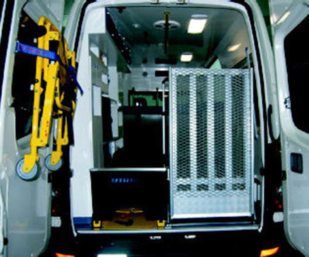 El código de circulación de las ambulancias