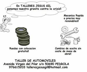 Taller de coches  en Pedrola