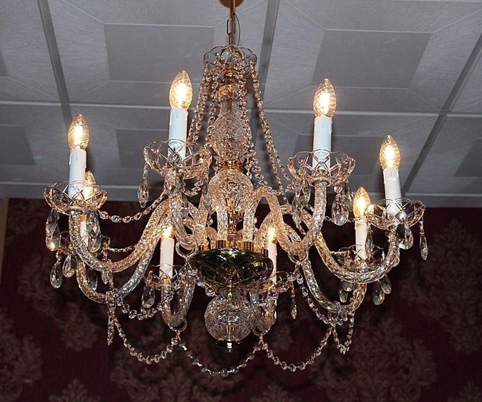 Lámpara de araña veneciana.: Artículos  de Ruzafa Vintage