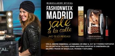La Fashion Week Madrid sale a la calle de la mano de L'Oréal París