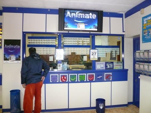 Venta de lotería en Valencia
