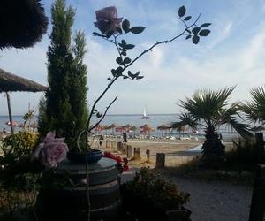 Vistas desde el jardín del Restaurante La Barraca