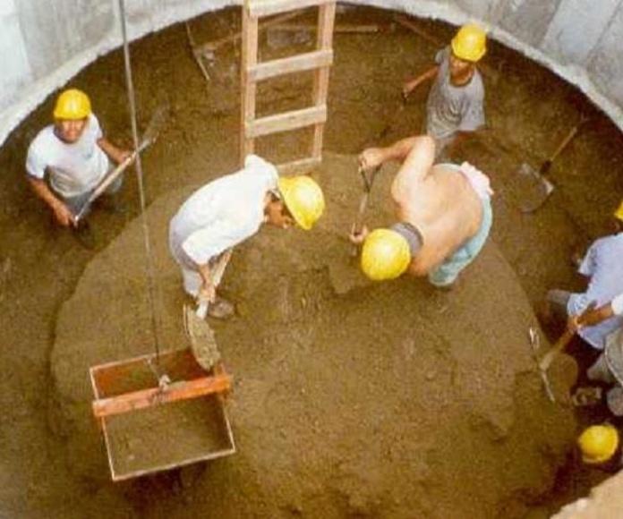Cimentaciones: Trabajos de Construcciones Javier Villar