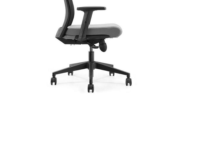 silla ergonomica nova con asiento gris