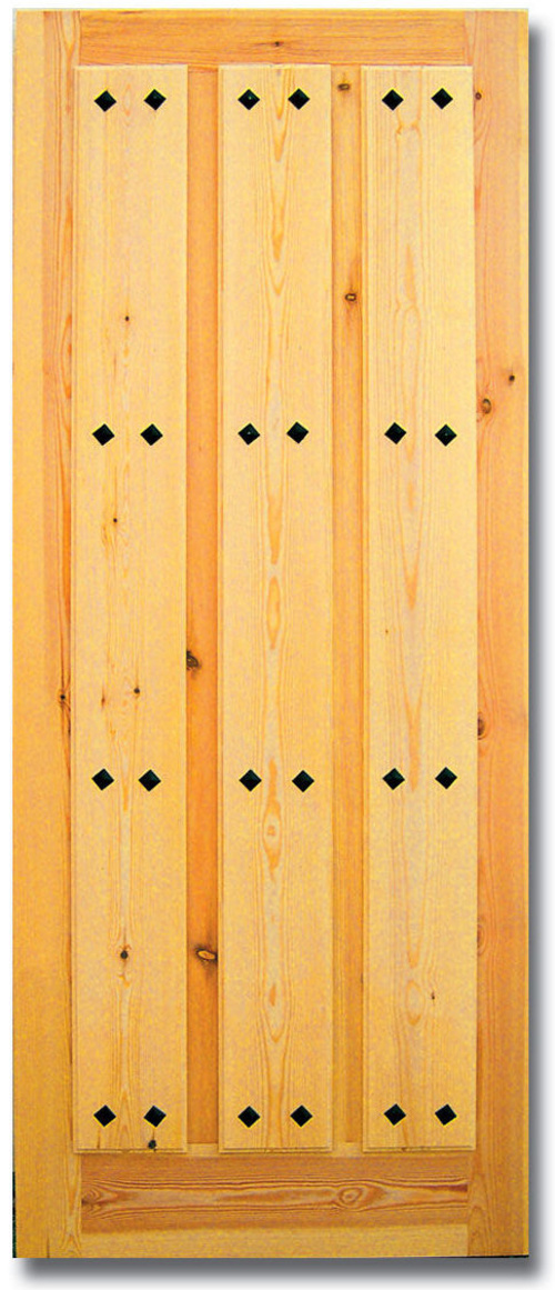 Puertas de entrada macizas