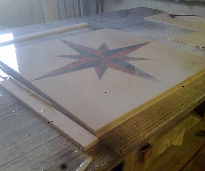 Estrella marmol: Catálogo y exposición de Alcomármol