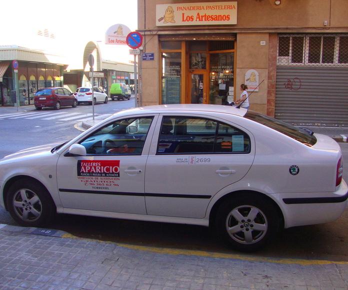 Publicidad en Taxis
