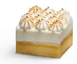 Pastelito de limón y merengue