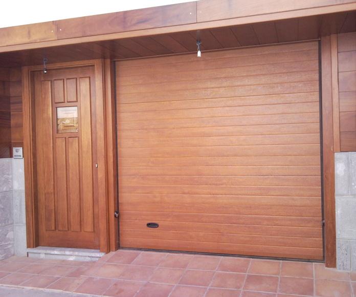 Portones seccionales de garaje: Catálogo de Persianas PeñaNora
