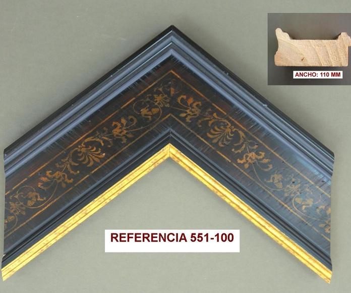REF 551-100: Muestrario de Moldusevilla