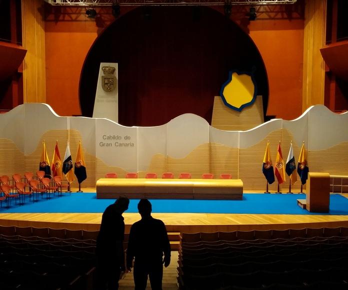 Acto de honores y distinciones del Cabildo de Gran Canaria 2014