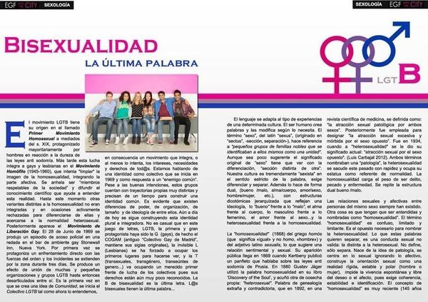Psicólogo Juan Macías, Colaboración en EGF and The City