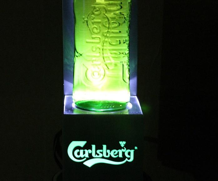 Expositor de cerveza Carlsberg: Artículos  de Ruzafa Vintage